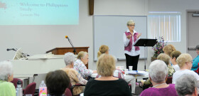 Women's Bible Study With Barbara Daniels Leading the Study in the Book of Philippians
