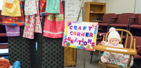 6/14 Wed. Night With Choices Pregnancy Center Presenting Its Mission And The Craft Corner Displays Its Work Made For The Choices Pregnancy Center During The Year.