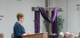 Mar. 4 Dr. Andrea Somerville returns to the pulpit for this Sunday.